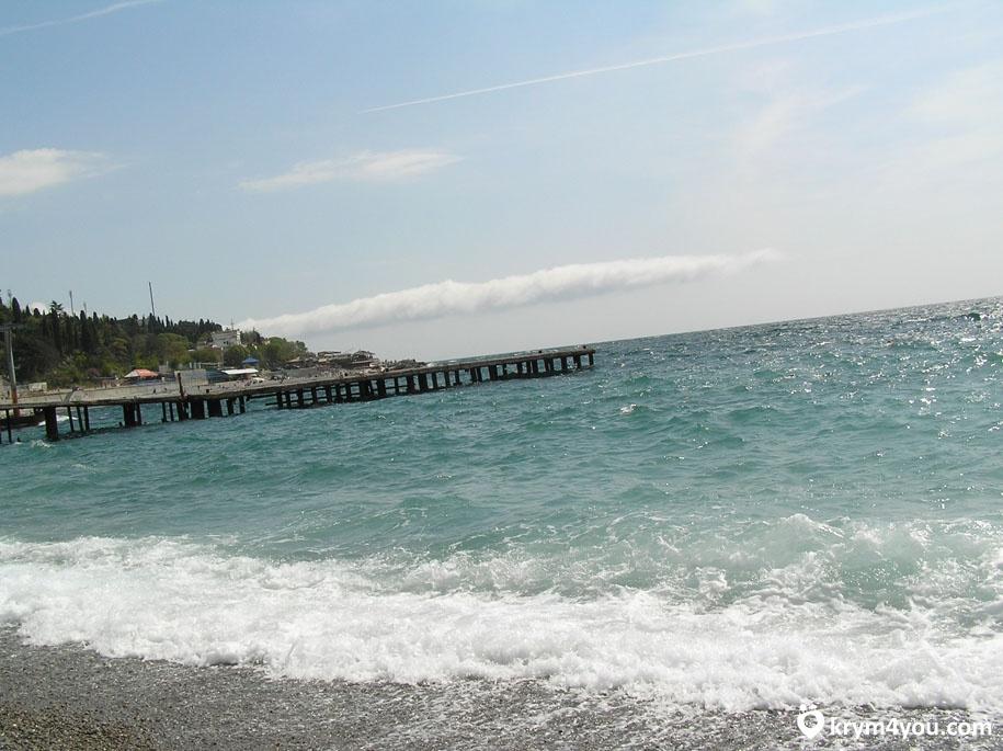 Пляжи Гурзуфа Крым