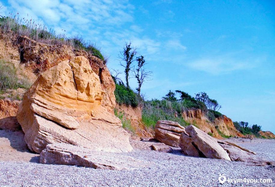 Крым Пляжи Качи