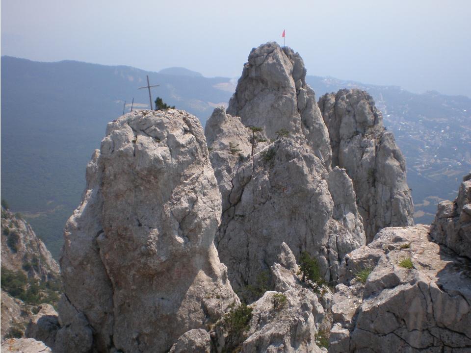 Гора Ай-Петри. Легенда о царе Ветров и Монахе