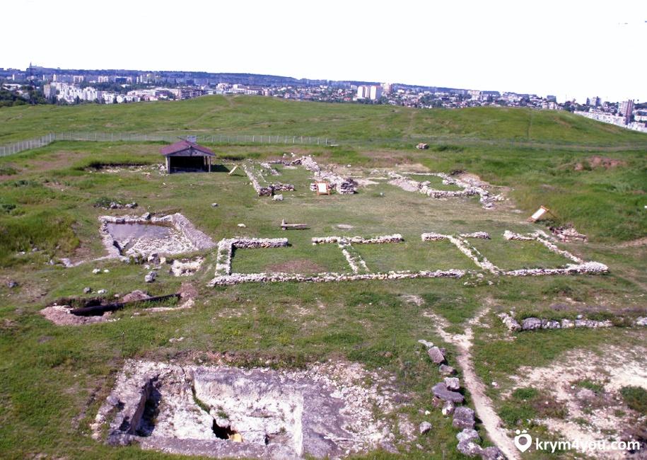 Неаполь скифчский развалины Симферополь