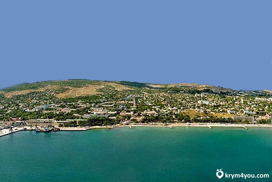 Жемчужный пляж феодосия