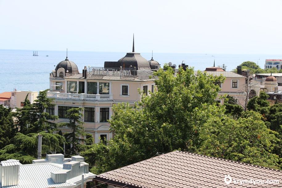город Ялта в Крыму