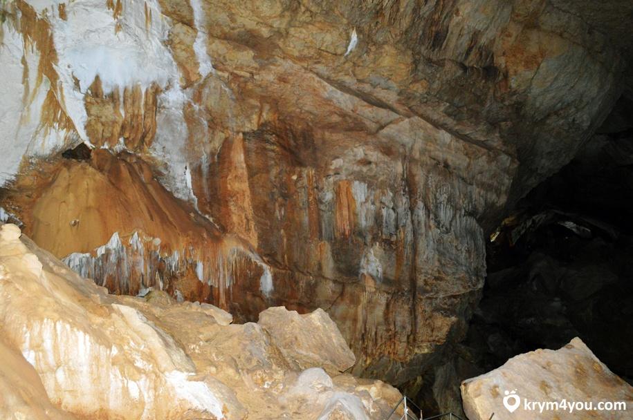 Пещера Эмине-Баир-Коба Крым фото 2