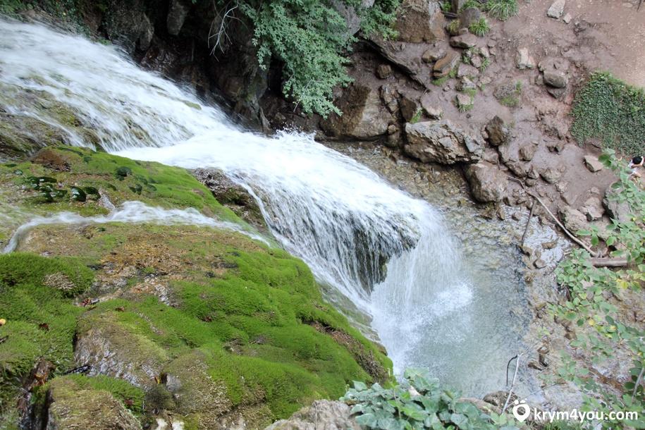 Достопримечательности Алушты Водопад Джур - Джур