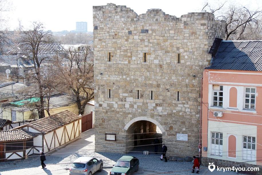 Гезлевские ворота Крым фото