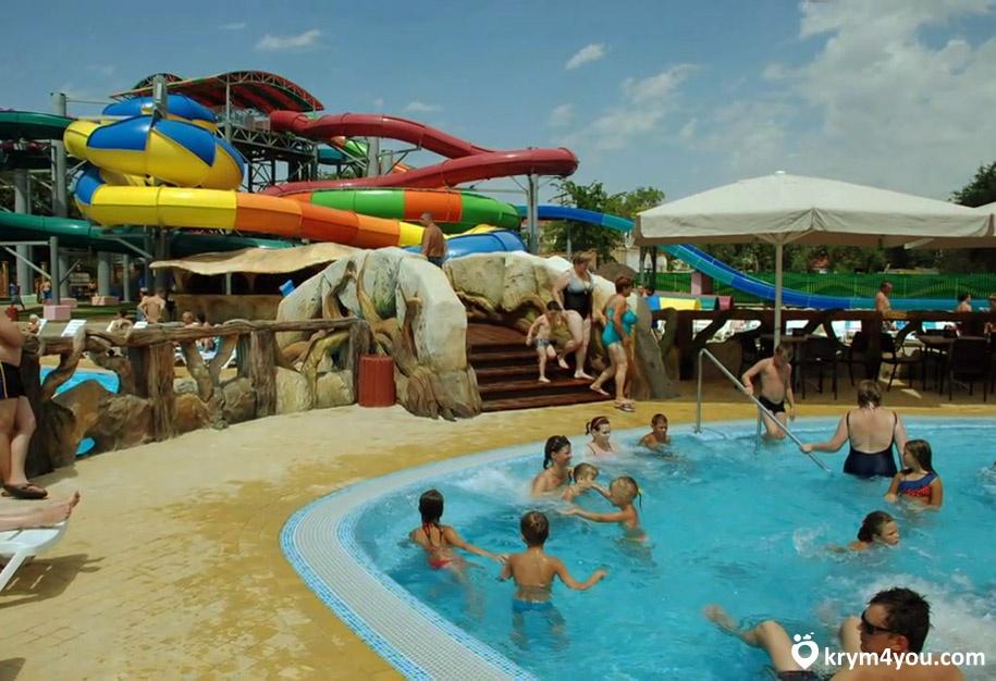 Евпатория аквапарк Лукоморье фото
