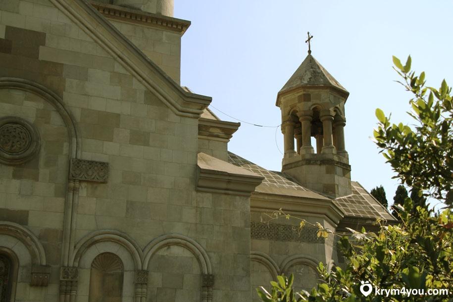 Армянская церковь Святой Рипсиме Крым