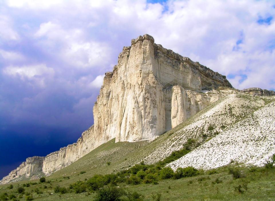 Белая скала Ак-Кая Крым