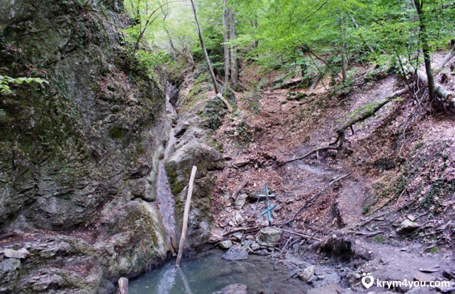 Водопад Трёх Святителей Крым фото