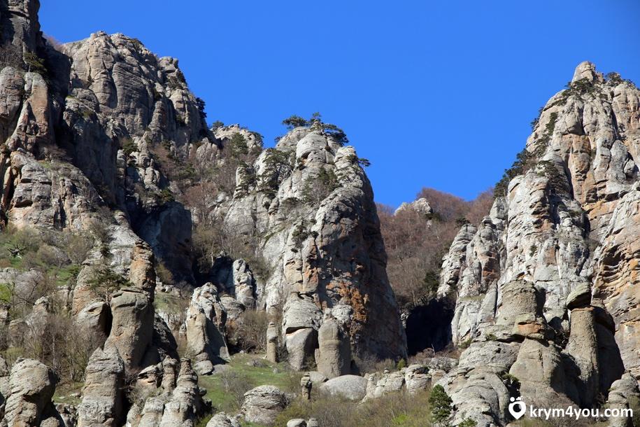 Долины Привидений Алушта, Демерджи