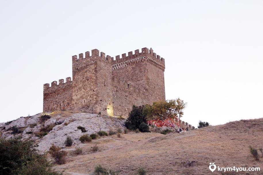 Генуэзская крепость в Судаке 1