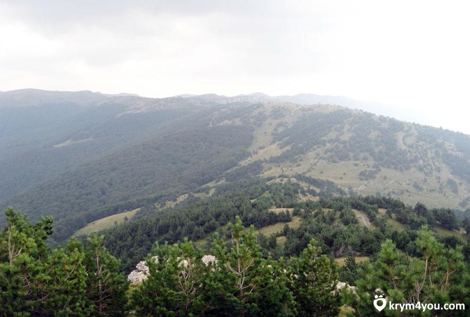 Перевал Гурзуфское седло Крым фото