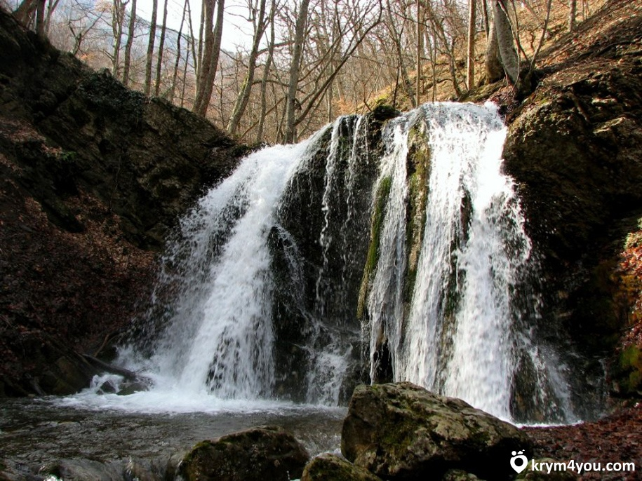 Водопад Головкинского Крым фото 2
