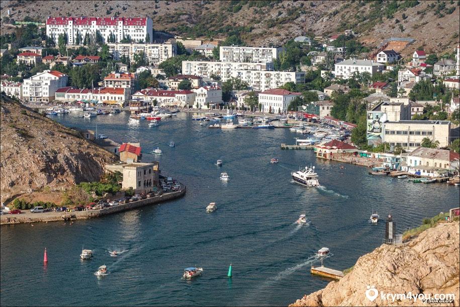 Таврическая набережная. Балаклава. Крым