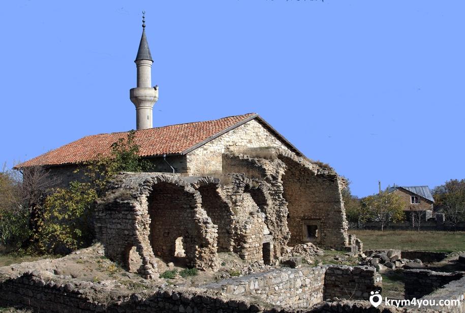 Мечеть хана Узбека Старый Крым фото