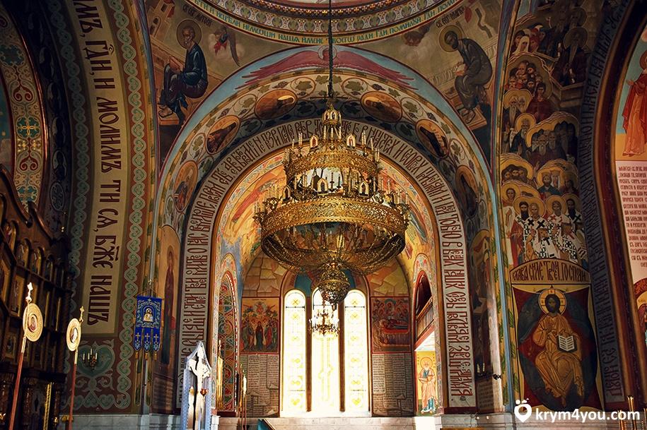 достопримечательность Покровский собор Севастополь Крым фото