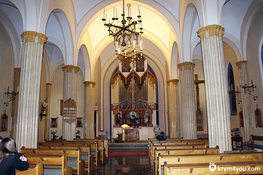 Римско-католический храм в Ялте