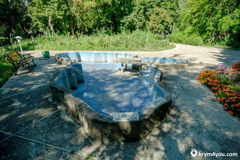 Парк Нижняя Ореанда. Крым