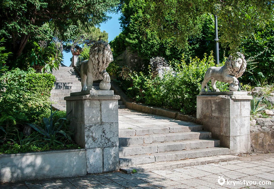 фото Юсуповский дворец Крым