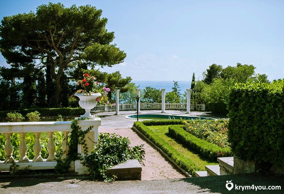 Юсуповский дворец Крым фото