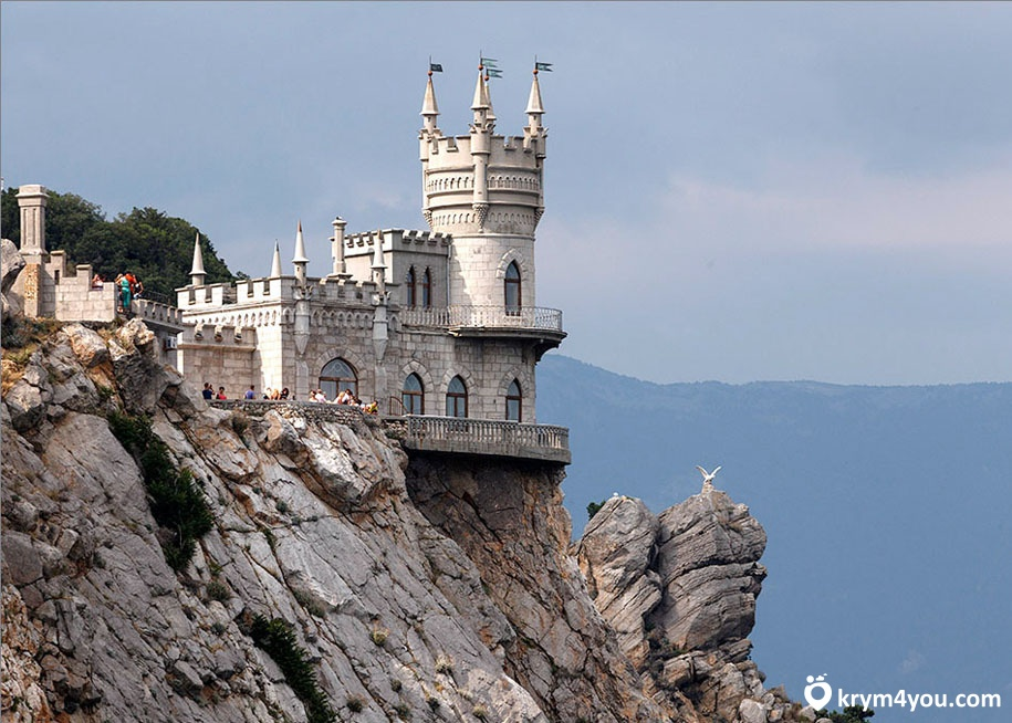 Ласточкино гнездо Гаспра Крым