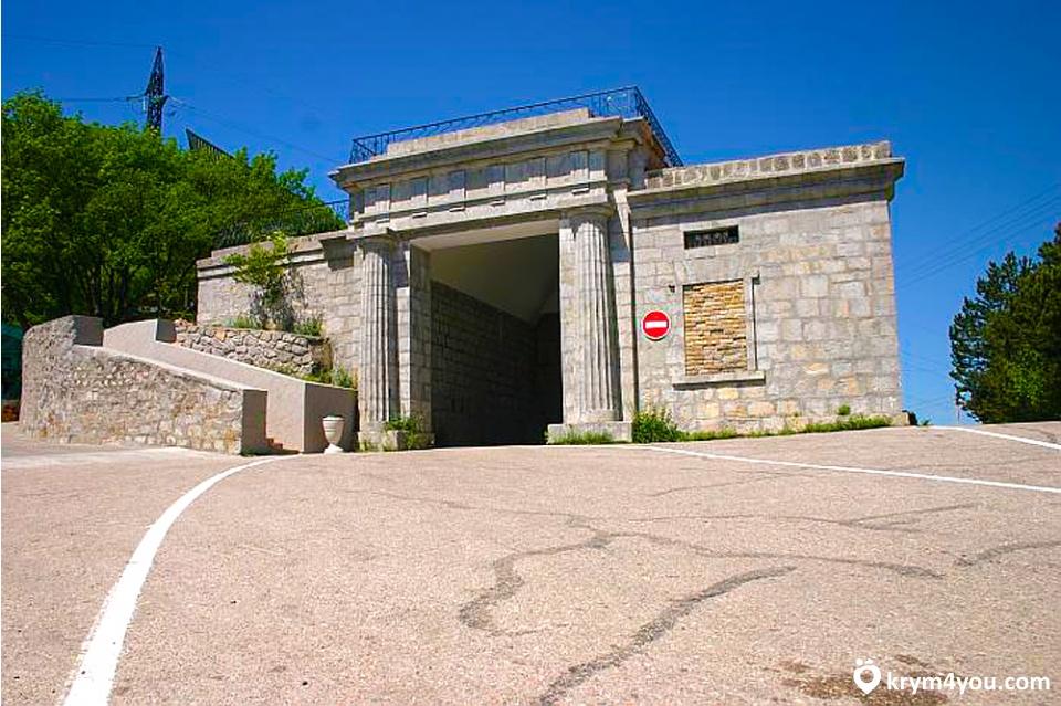 Достопримечательности Фороса - Байдарский ворота