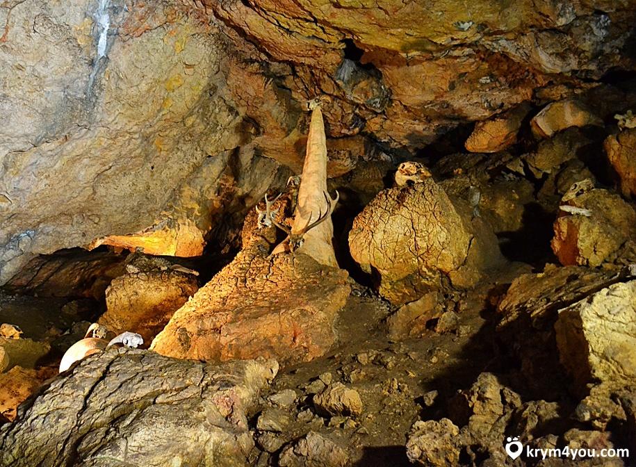 Крым Красная пещера Кизил-Коба фото