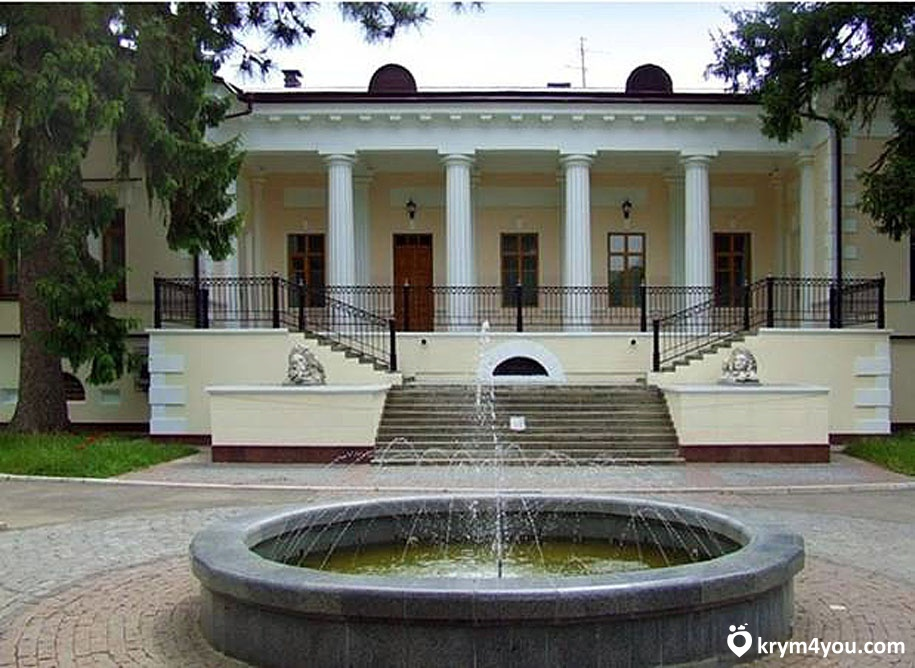 Крым Дом графа Воронцова