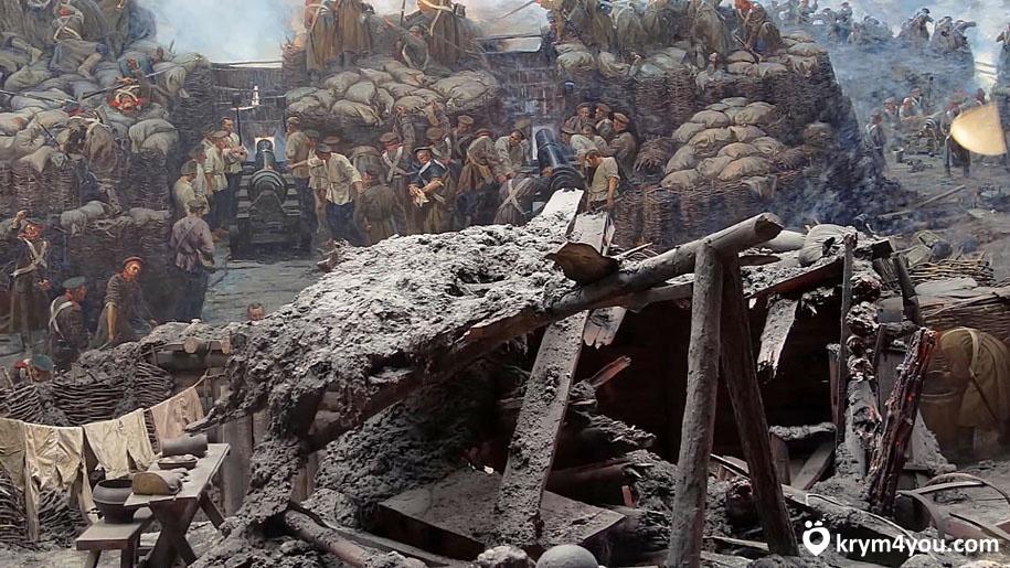 Оборона Севастополя панорама Крым