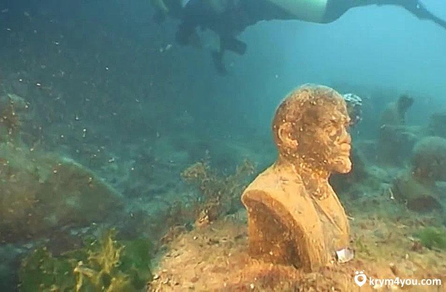 Тарханкут Подводный музей
