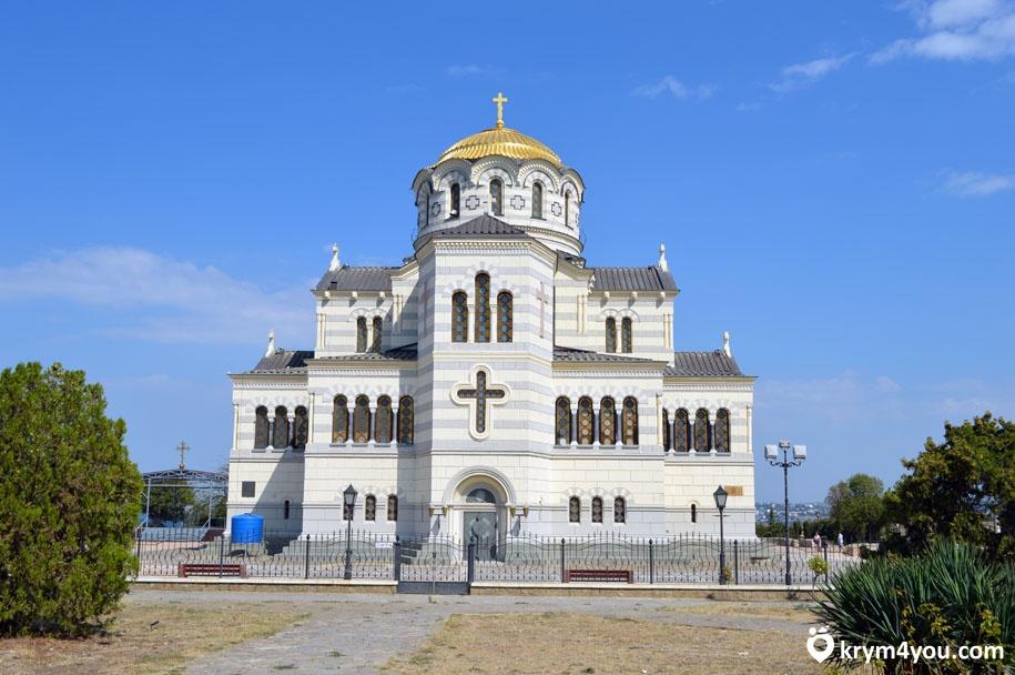 Владимирский собор в Херсонесе Крым