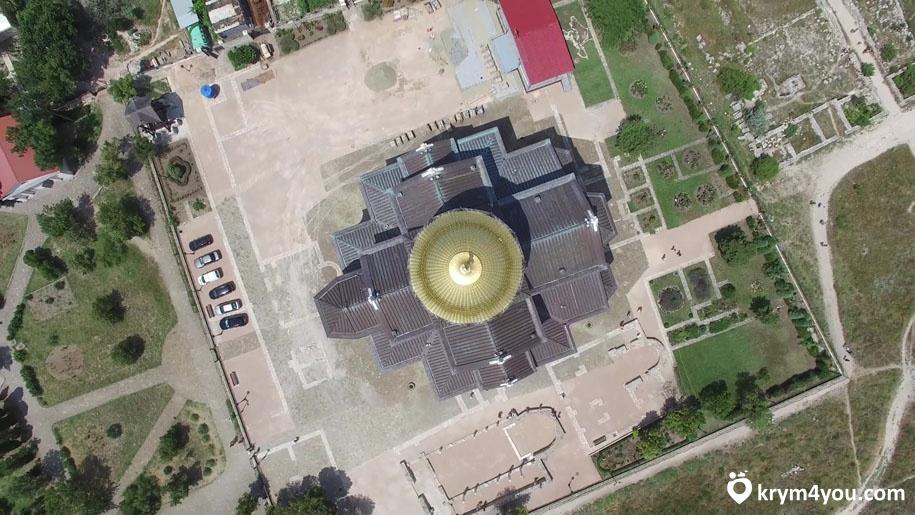 Владимирский собор в Херсонесе Таврическом вид с верху