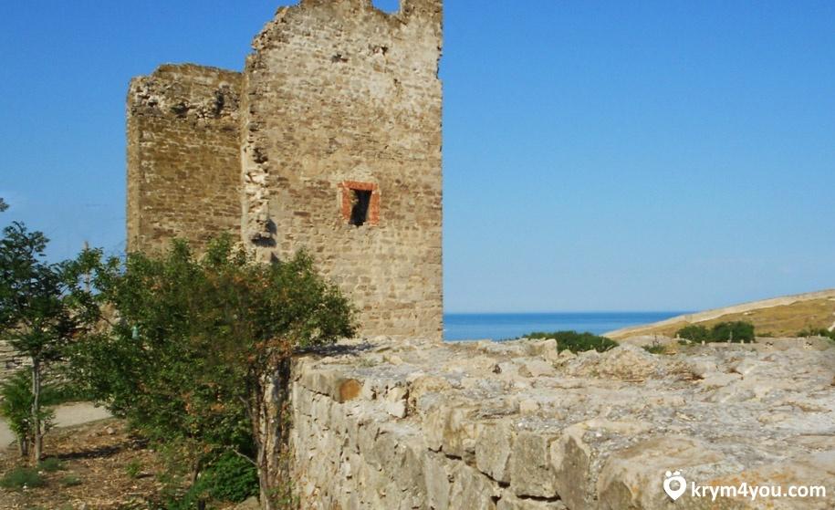 Крепости Крыма Феодосия