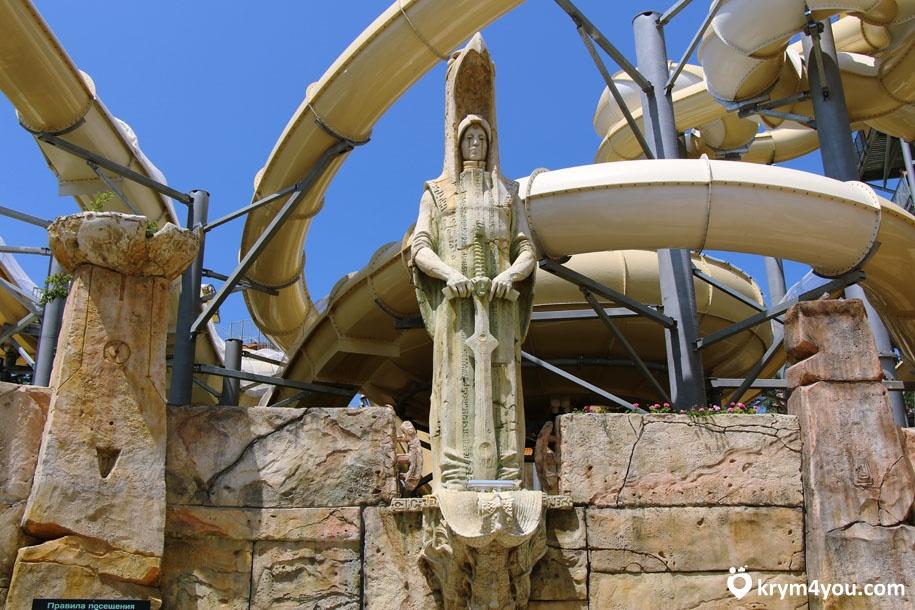 Аквапарк Атлантида в Ялте фото 1