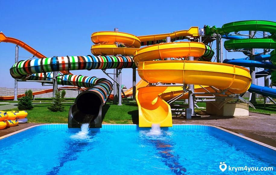 Аквапарк Коктебеля фото Крыма