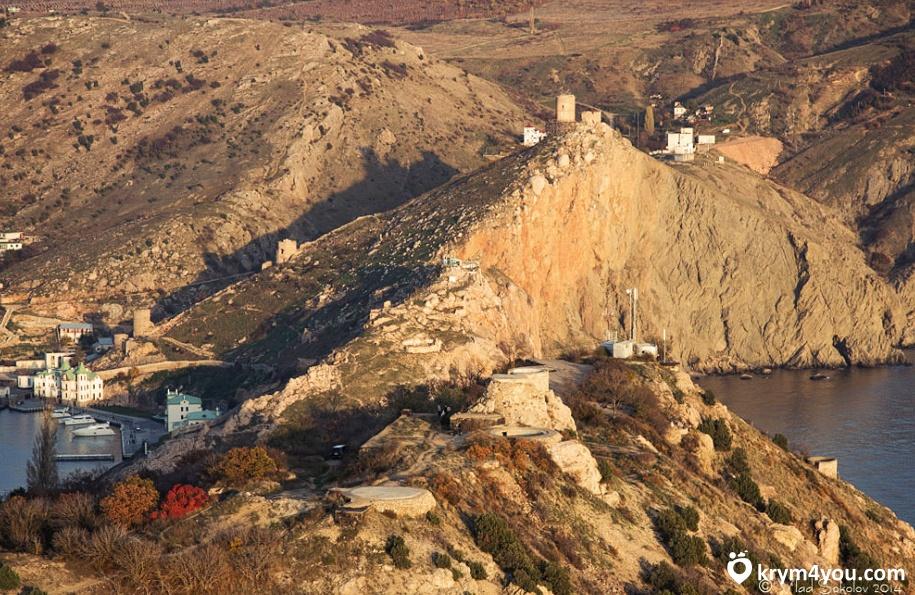 Крым Генуэзская крепость в Балаклаве