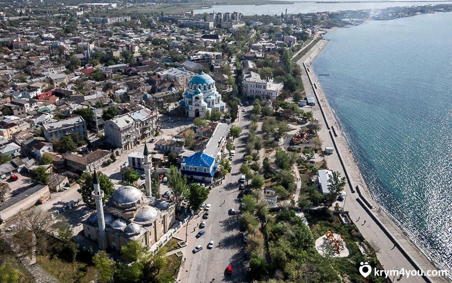 Крым, Мечеть Джума-Джами Евпатория