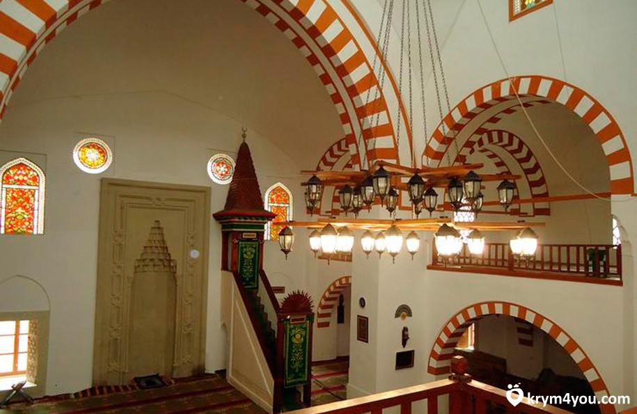 Мечеть Джума-Джами Евпатория Крым