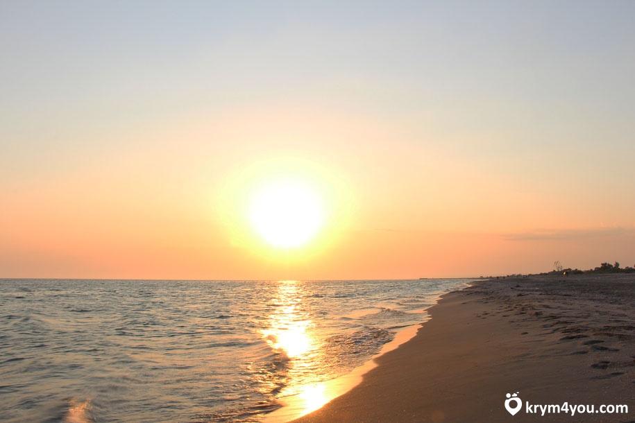 Крым поселок Мирный