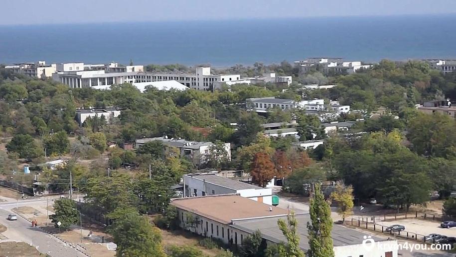 Заозёрное Крым