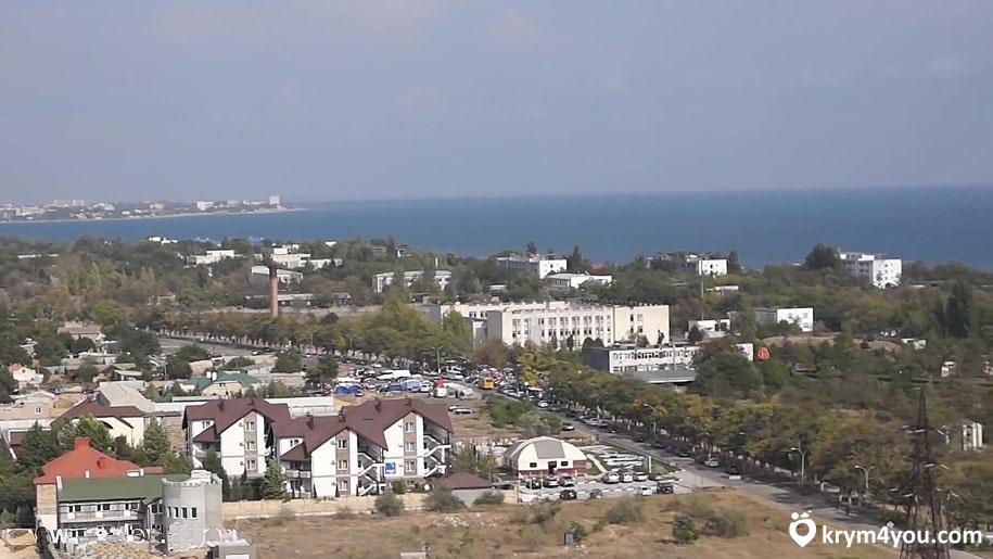 Заозёрное Крым море