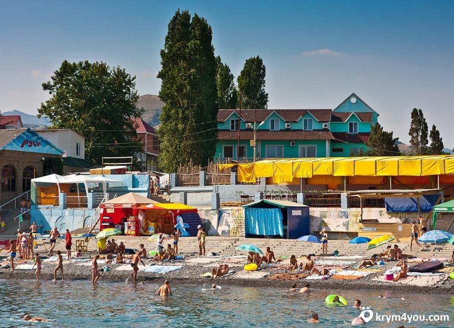Поселок Морское Крым фото 2