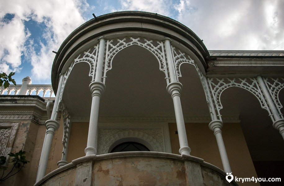 Дворец эмира Бухарского Ялта фото