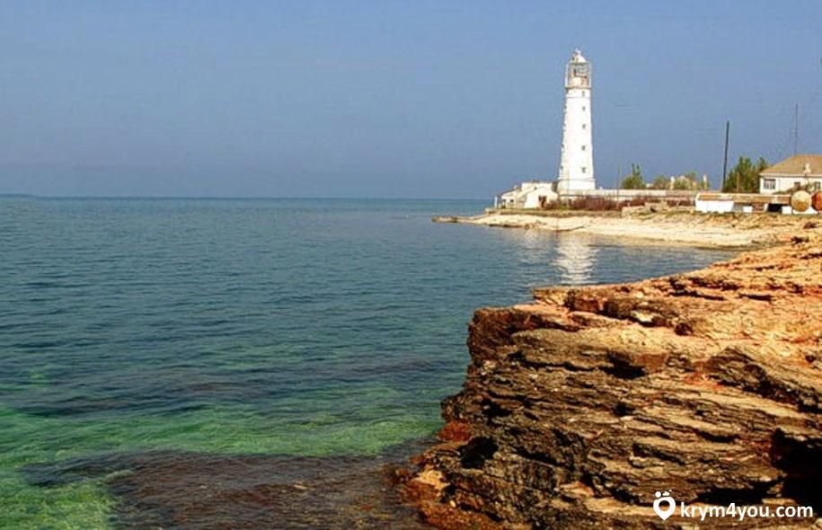Тарханкутский маяк Крым