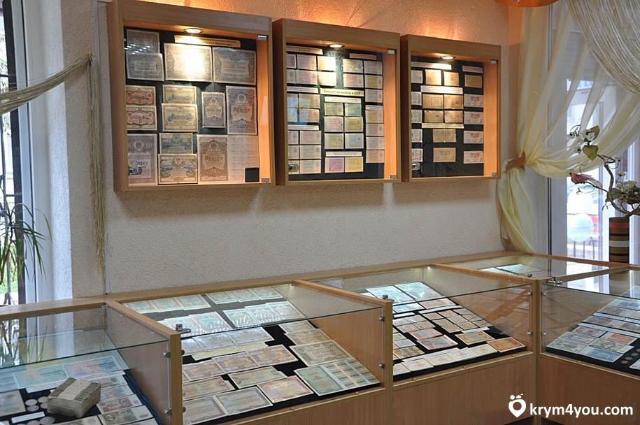 Музей денег в Феодосии Крым фото 1