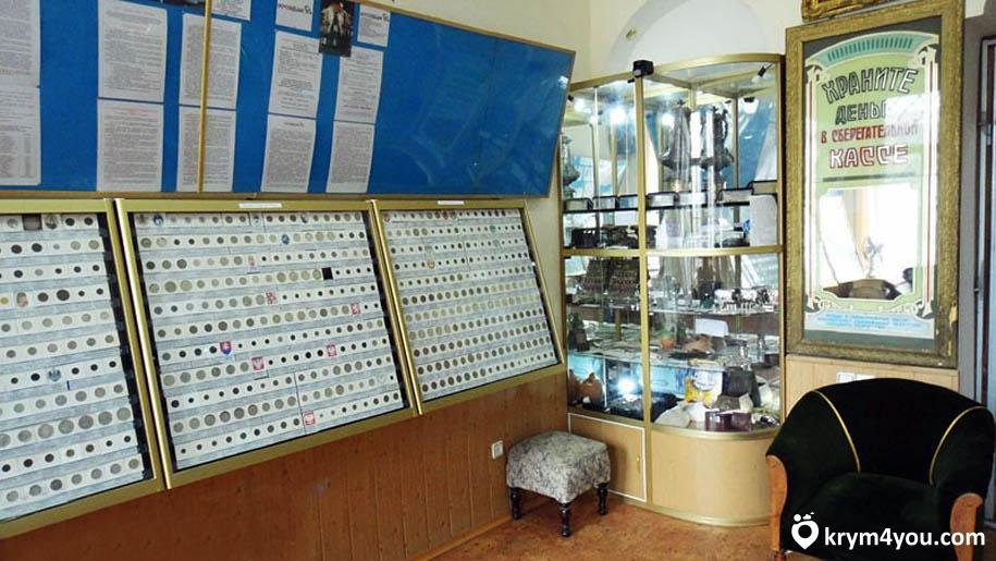 Музей денег в Феодосии Крым фото
