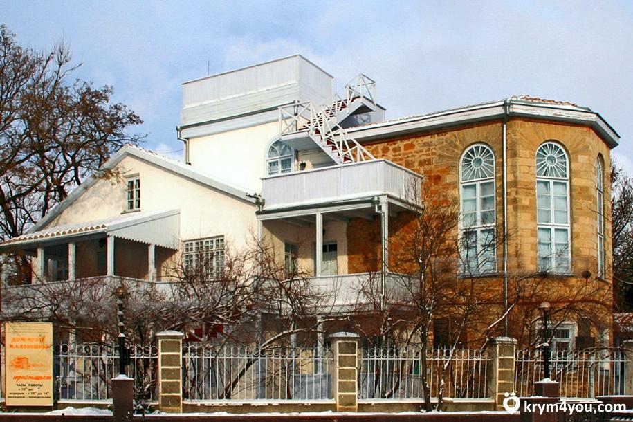 Музей Волошина Крым фото