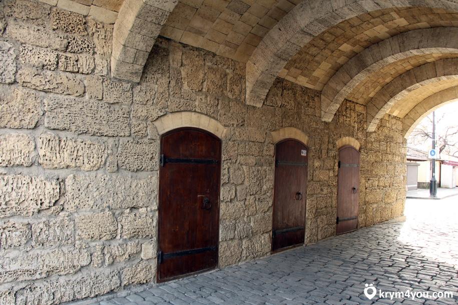 Гезлевские ворота Евпатория Крым фото