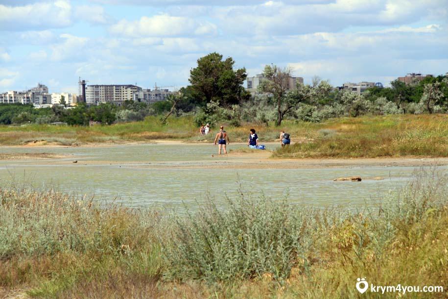 Майнаксое озеро Евпатория Крыма фото 211111