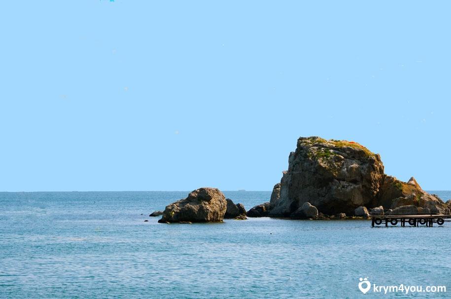 Крабий остров Крым